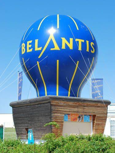 Kaltluftballon für Belantis