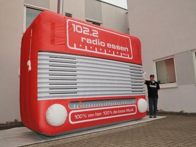 Dreidimensionales Airdisplay – Radio