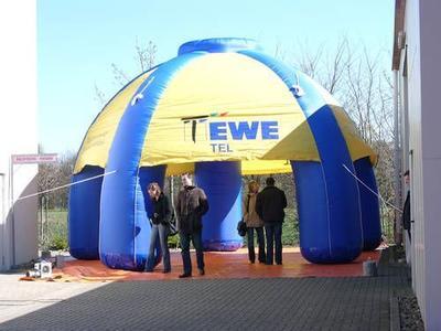Aufblasbarer Pavillon für Ewetel