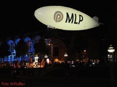 Helium-Zeppelin für MLP