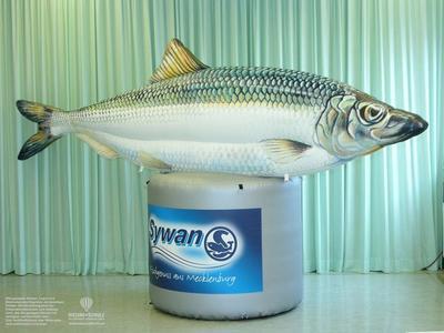 Aufblasbarer Fisch