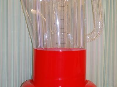 Aufblasbares Replikat – Mixer