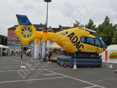 Aufblasbarer Hubschrauber