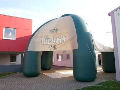 Aufblasbarer Pavillon für Diebels Pils