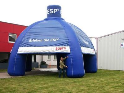 Aufblasbarer Pavillon für Bosch ESP