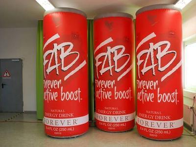 Aufblasbare Dose für FAB
