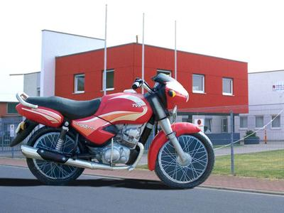 Aufblasbares Motorrad