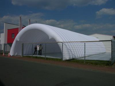 Aufblasbarer Tunnel