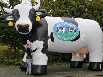 Luftgefüllte Kuh