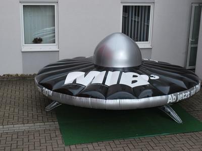 Luftgefülltes UFO