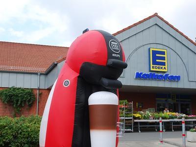 Ballonfigur – Kaffeemaschine