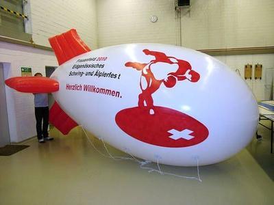 Helium-Zeppelin für Frauenfeld