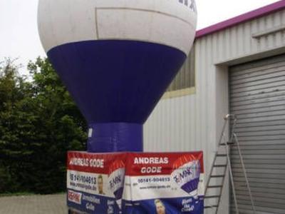 Kaltluftballon für Remax