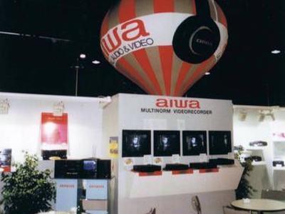 Kaltluftballon für Aiwa