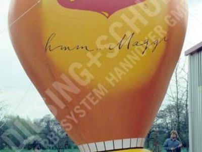 Kaltluftballon für Maggi