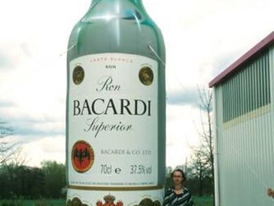 Aufblasbare Flasche