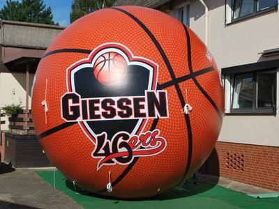 Aufblasbarer Riesenball