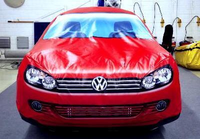 Balloon Car VW Golf